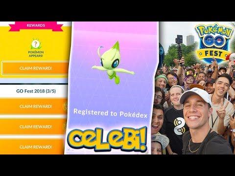 i-caught-celebi-in-pokÉmon-go!-new-mythical-celebi-special-research-at-pokémon-go-fest-2018!