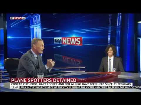 Alex Macheras Talks To Sky News About The British Nationals Arrested IN UAE For Plane Spotting