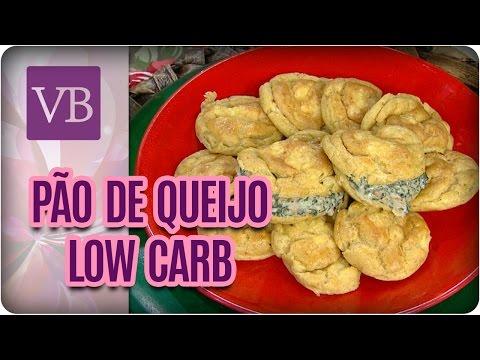 Pão de Queijo Francês Low Carb - Você Bonita (11/05/17)