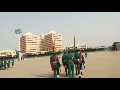 Nigerian Guards Brigade Saturday Weekly Change of Guards Parade