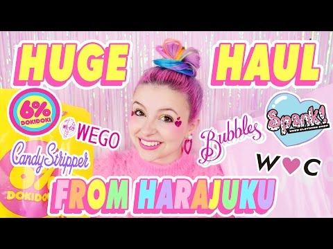 ♡ HUGE HARAJUKU FASHION HAUL ♡