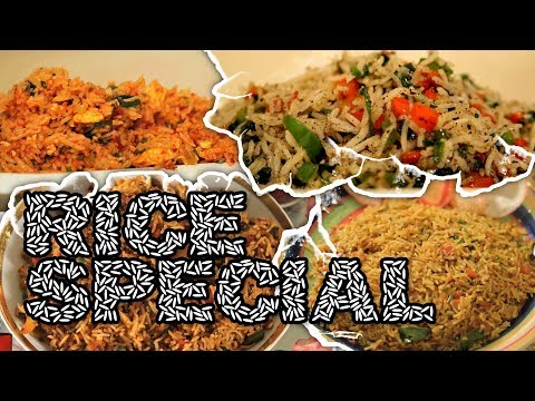 Rice Special | Learn To Make Different Types Of Rice | Healthy Recipes | Learn To Cook | Cook Book