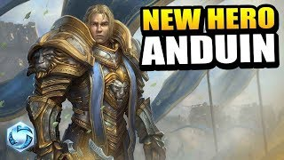 ANDUIN - new hero on PTR! // Heroes of the Storm