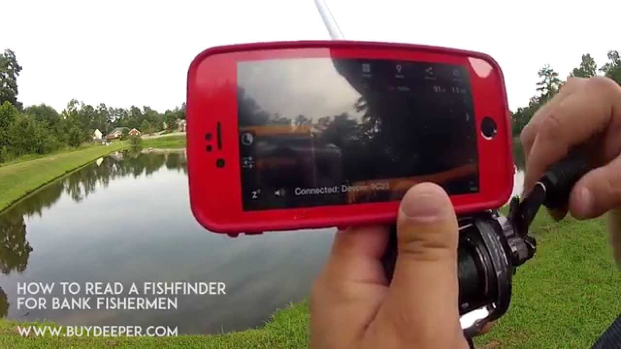 deeper: bank fishing for bass - how to read deeper fish finder, Fish Finder