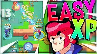 EASY LEVELING!! - Brawl Stars COLT Gameplay
