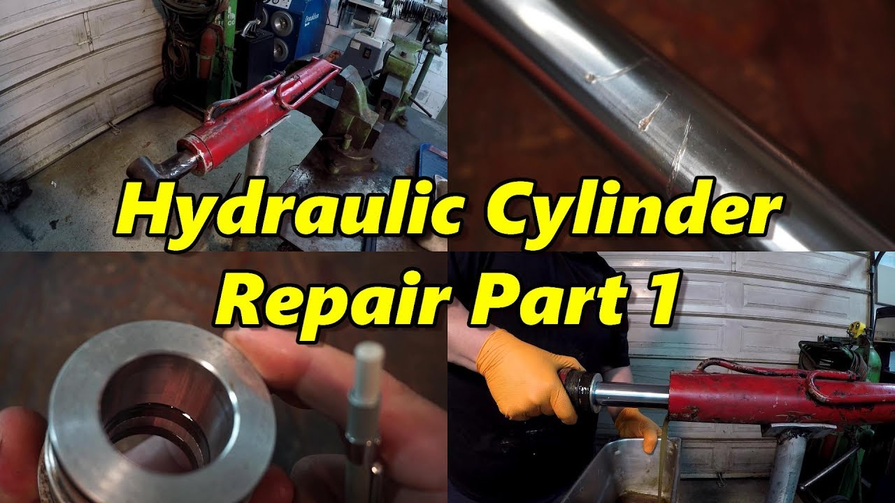 Hydraulic Cylinder Repair Part 1