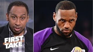 Reports of LeBron refusing to be coached is disrespectful - Stephen A. | First Take