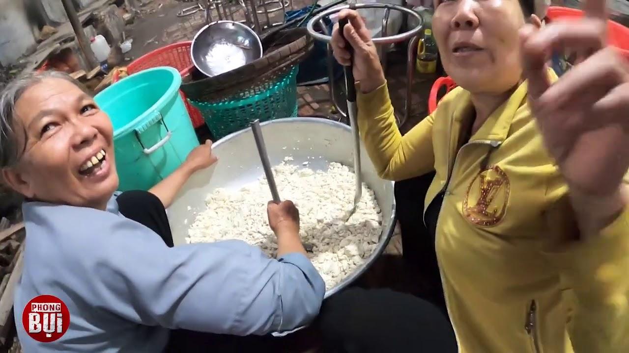 Đang quay NỒI CƠM KHỔNG LỒ và 6 Tấn Bún Miễn Phí bị bà con phát hiện ra Phong Bụi
