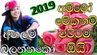 Sinhala New Songs 2019 || Dj Nonstop || Best Song Collection