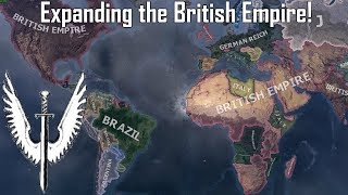 Restoring the Great British Empire in Hoi4! (Speedrun/Timelapse)