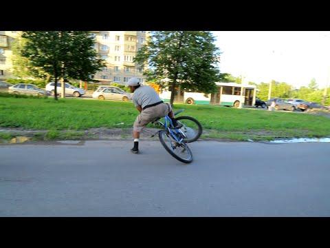 СтопХамСПб - Странный велосипедист