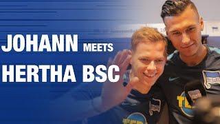 JOHANN MEETS HERTHA BSC - Hertha BSC - Berlin - 2019 #hahohe