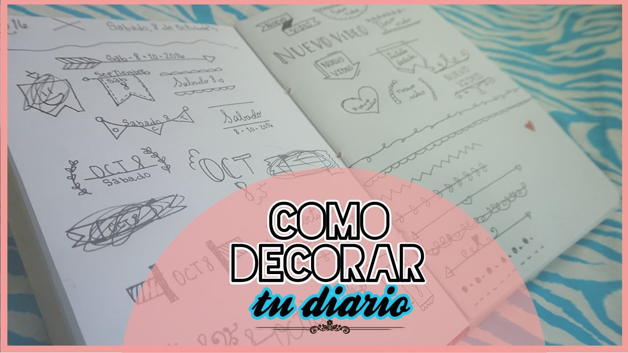 Como decorar tu diario personal intimo medicenyessi for Paginas de ideas de decoracion