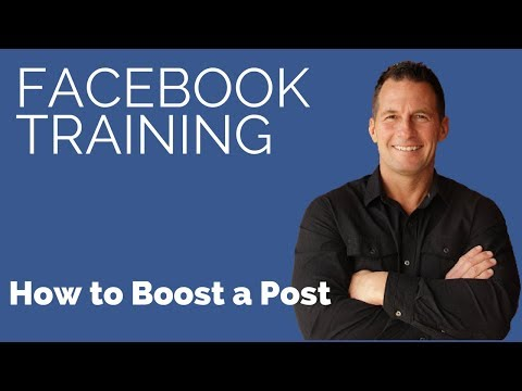 Can i boost a post on my personal facebook page