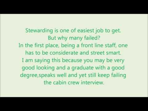 Tips for cabin crew interview