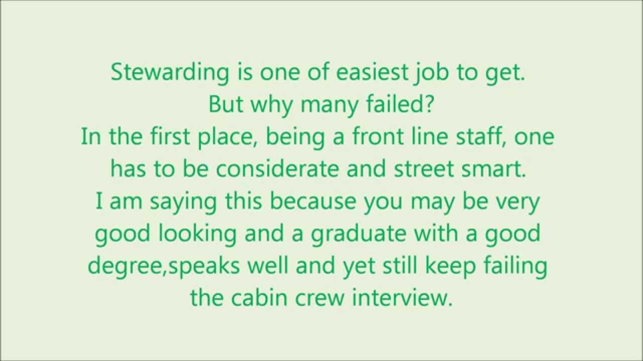 tips for cabin crew interview tips for cabin crew interview