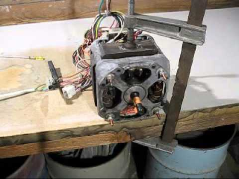 How to connect up a two speed single phase motor - YouTube