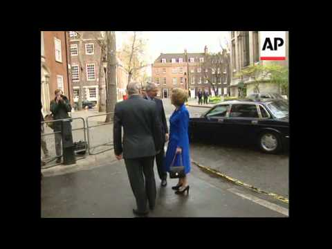 UK: BARONESS THATCHER URGES CONSERVATIVES TO UNITE BEHIND MAJOR