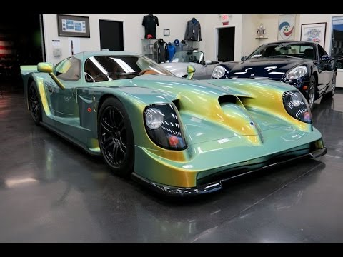 1997 Panoz Esperante GTR1 (showroom) - YouTube