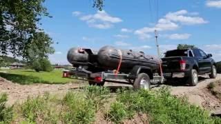 Сплав по Чусовой(Фильм об экспедиции на уральскую реку. Сплав осуществляли с июне 2016 года. Лодку доставили на прицепе