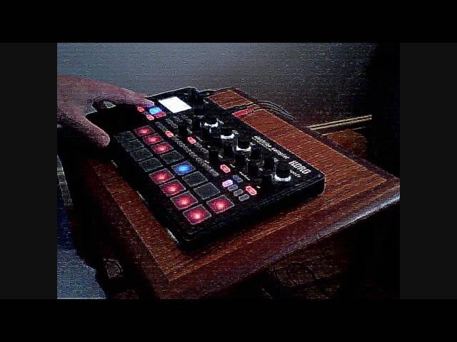 BGR - (live) Dub House Techno - Korg Electribe Sampler ESX2