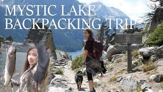 Camping at Mystic Lake - With My Wifey! (Fishing Montana)
