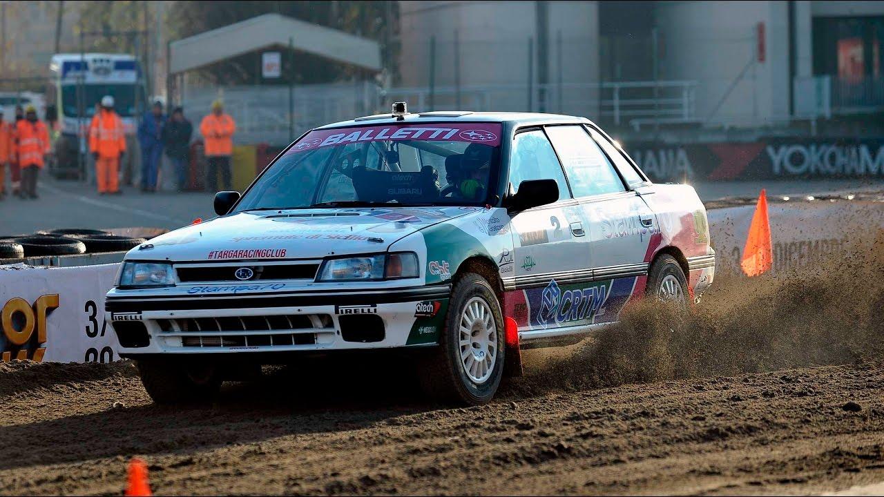 Subaru Legacy Rs Toto Riolo On Board Rally Youtube