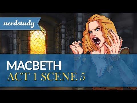 Macbeth Summary (Act 1 Scene 5) - Nerdstudy