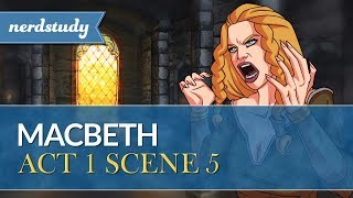 Macbeth Summary (Act 1 Scene 5) - Nerdstudy