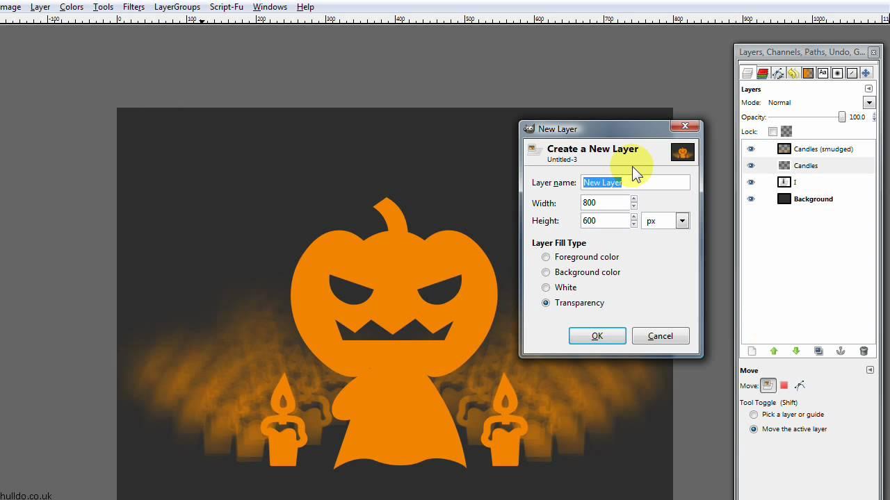 Poster design gimp - The Gimp Halloween Poster Part 1 Of 2