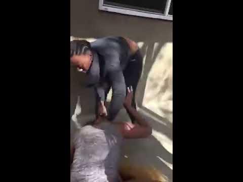 Kesha in some girl fighting