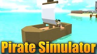 PIRÁTSKÝ SIMULÁTOR V ROBLOXU!😱😎 | ROBLOX: Pirate Simulator