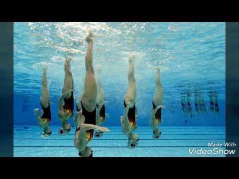 фото синхронное плавание фото под водой