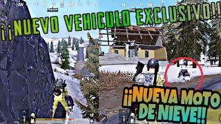 ¡¡Moto de nieve exclusiva del nuevo mapa!!/Gameplay de PUBG Mobile [Español] #pubgmobile
