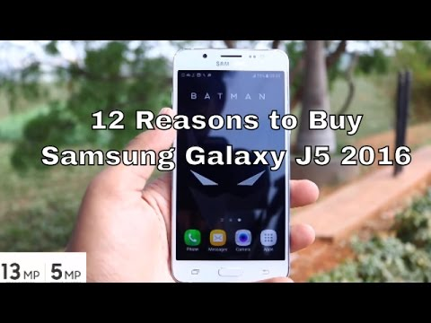 12 Reasons to Buy Samsung Galaxy J5 (2016)