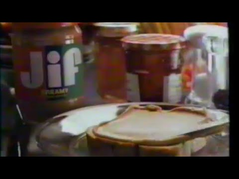 1989 Jif Creamy Peanut butter TV Commercial