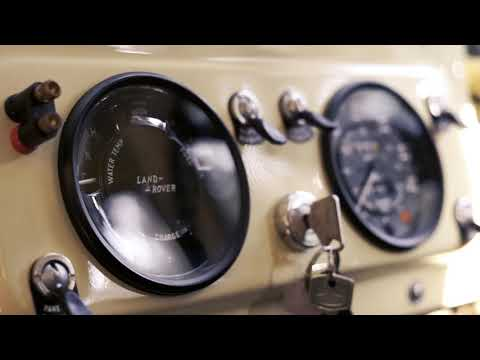 "Land Rover SERIES 2 88"" Restoration"