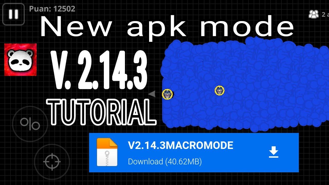AGAR.IO MOBILE NEW VERSION 2.14.1 MACRO MODE APK - (Mediafire link)