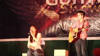 Em về tóc xanh - Kiều Oanh, Hoàng Mạnh - Đông Anh Guitar Show 2012