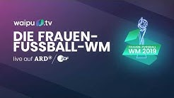 Frauen Fußball WM 2019 live im TV & Livestream [HD] im ZDF & ARD | waipu.tv ⚽️🔥