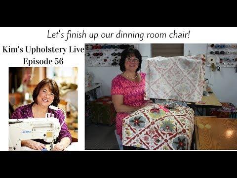 Kim's Upholstery Live Episode 56
