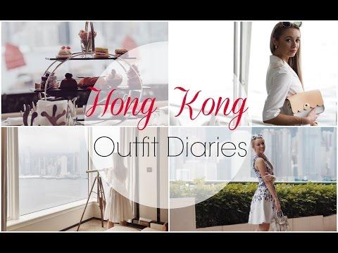 Hong Kong Outfit Diary   |   Travel Vlog   |    Fashion Mumblr