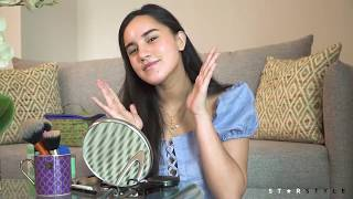 Juliana Gomez Shares Her Back-To-School Makeup Routine | Star Style Beauty