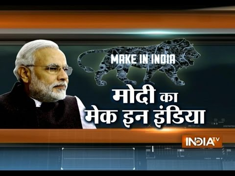 Modi's Make In India Campaign Makes Big Splash In China - India TV