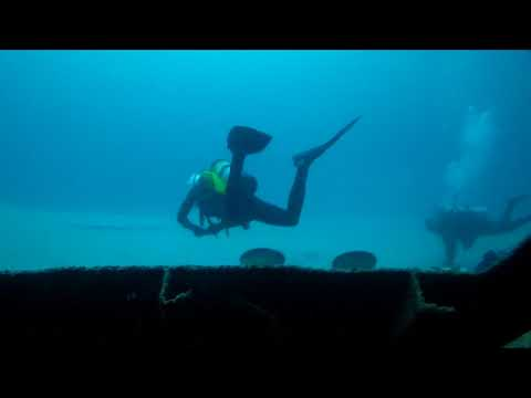 Okinawa Shipwreck - Pompano Beach, Florida - post Hurricane