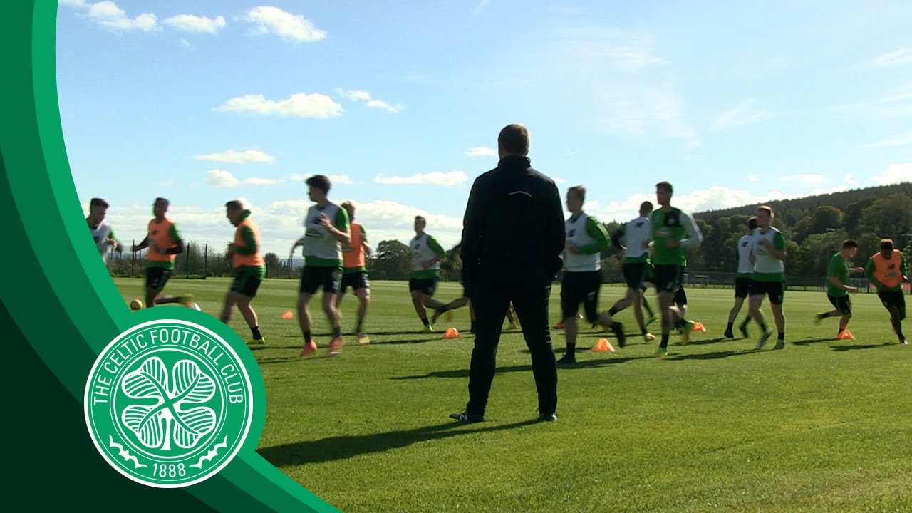 Celtic Fc Guess Who S Back Griffiths Returns To Training Youtube