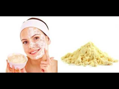 gram flour for pimple marks