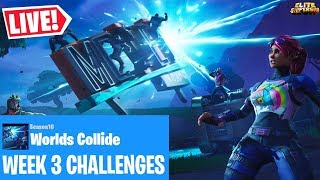 🔴 *NEU* WORLDS COLLIDE WEEK 3 HERAUSFORDERUNGEN & RED STRIKE STARTER PACK (FORTNITE SEASON X LIVE)