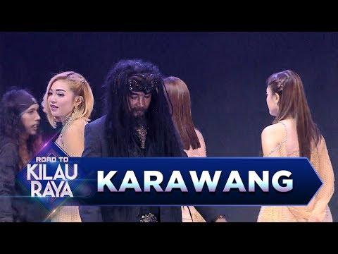 Wah!! Atraksi Apa Lagi Nih Yg Dilakukan Limbad Bareng Trio Macan - Road to Kilau Raya (18/3)