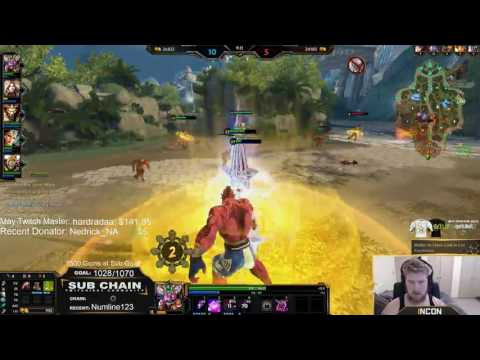 Support Ravana THE ULTIMATE CARRY - Incon - Smite
